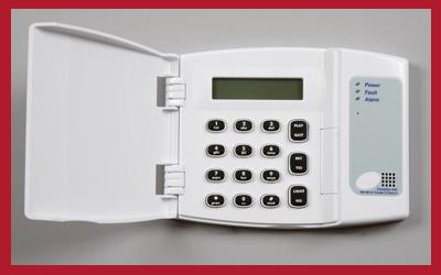 Keypad for intruder alarms from NAB Alarms