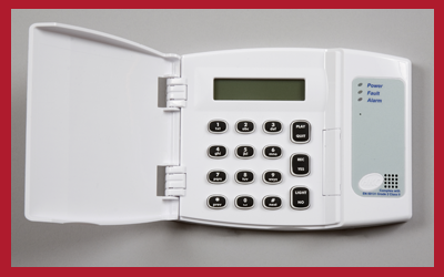 Keypad for intruder alarms from NAB Alarms